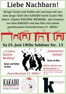 KKD Sommerfest Plakat 1