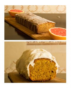 KKD Grapefruit and Carrot Cake