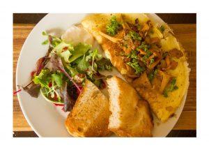 KKD Pfifferling omelette