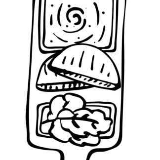 Hummus & Salat