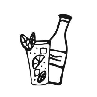 Saft, Limos & Wasser